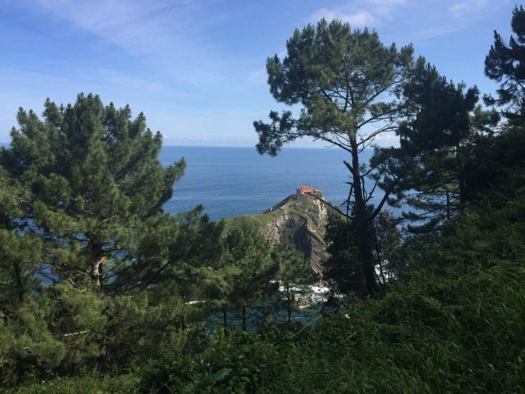San Juan de Gaztelugatxe view from afar