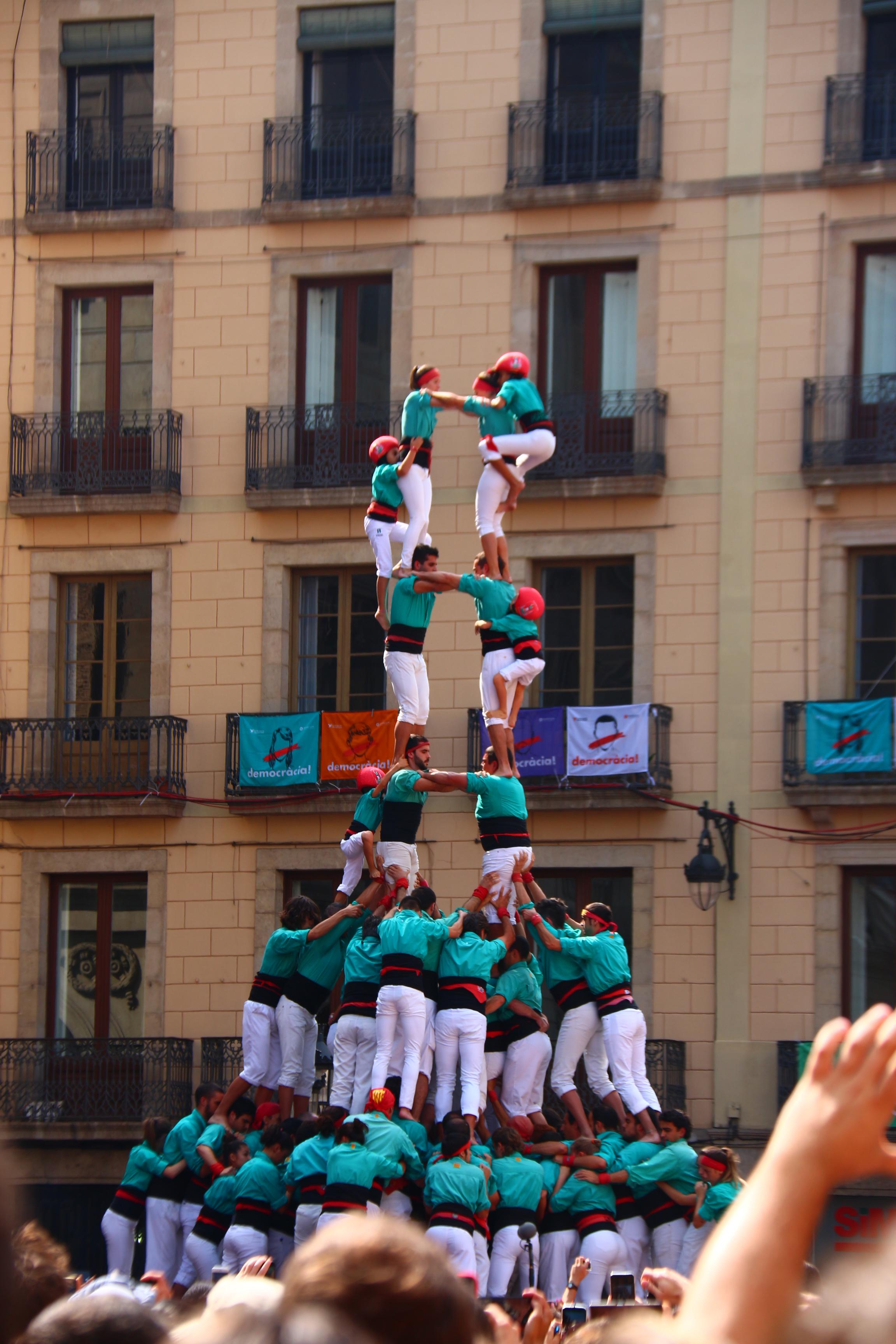 castellers of vilafrance