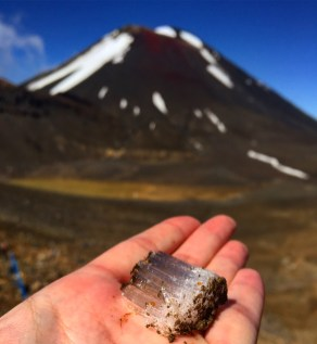 Mount Doom and its Ice Diamonds