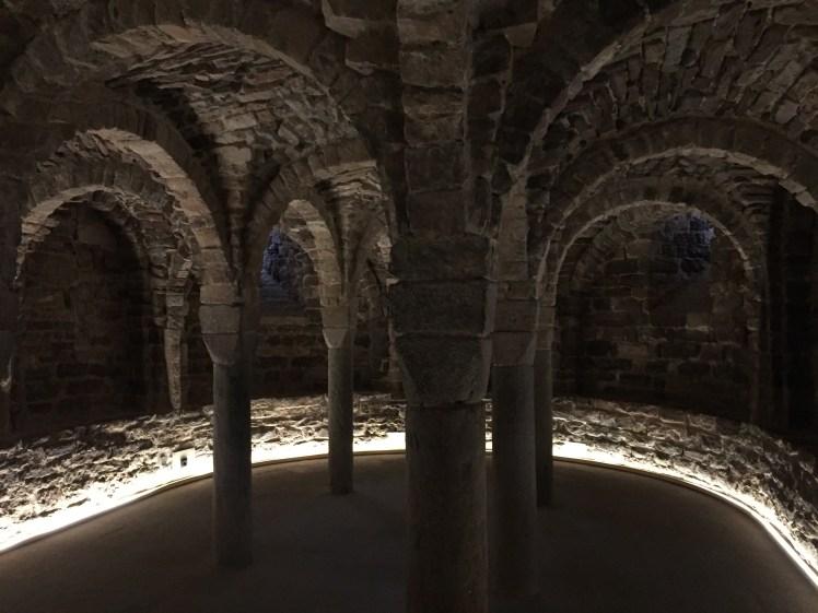Parador de cardona church of st vincent crypt