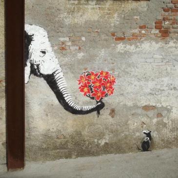 valentine's day graffitti