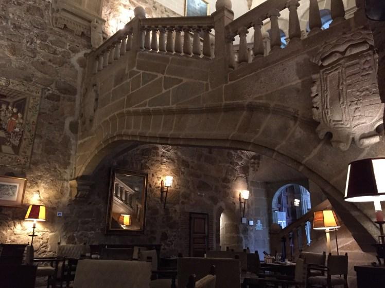 Parador Spain: Parador de Plasencia Flying staircase