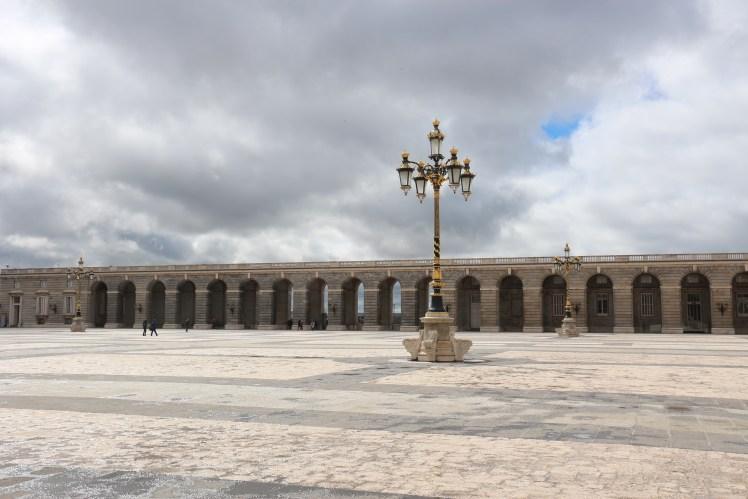 madrid palacio reial court