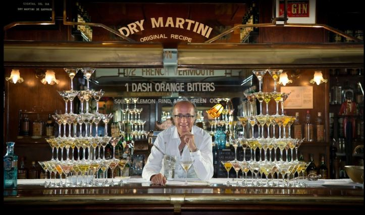 Bar Crawl in Barcelona, dry martini bar
