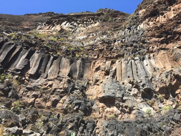 la gomera Guarimiar rocky landscape