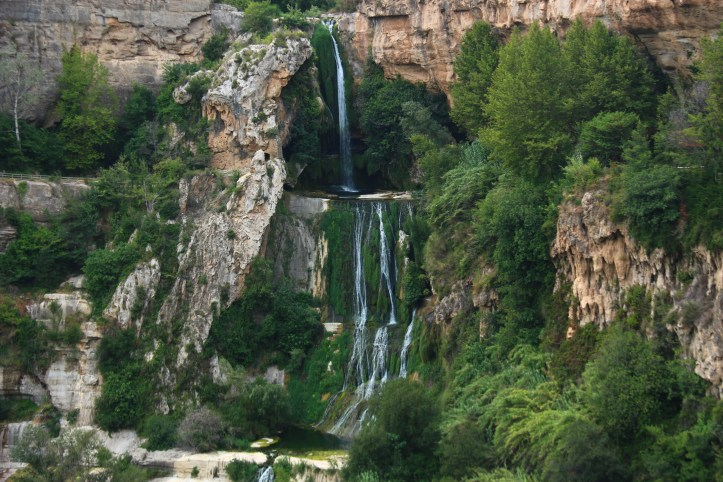 Sant Miquel del Fai wonderful waterfall