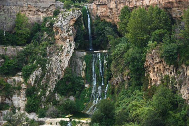Sant Miquel del Fai wonderful waterfall