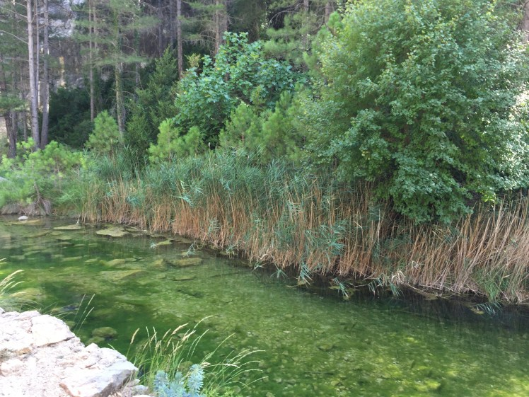 Matarrana river at Parrisal de Beceite