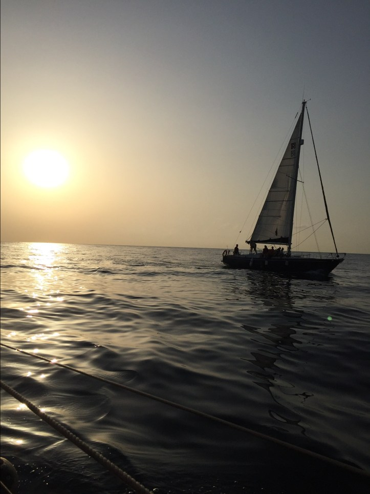 sailboat perseides barcelona