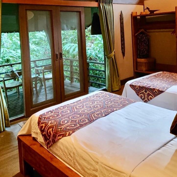 Sukau Rainforest Lodge  kinabantagan river