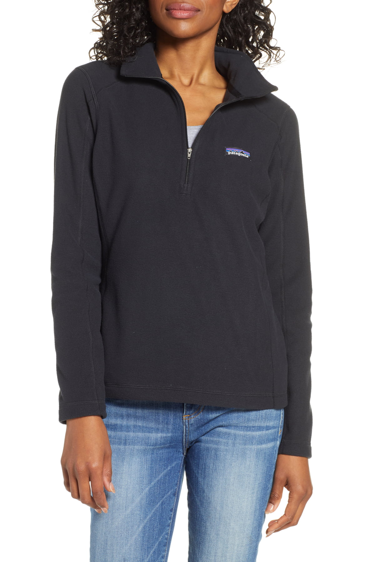Micro D® Quarter-Zip Fleece Pullover