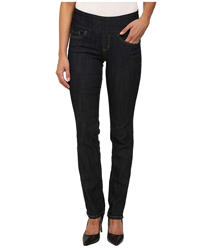 Jag Jeans Peri Pull-On Denim Straight Leg Jeans