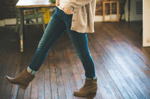 boots-cardigan-denim