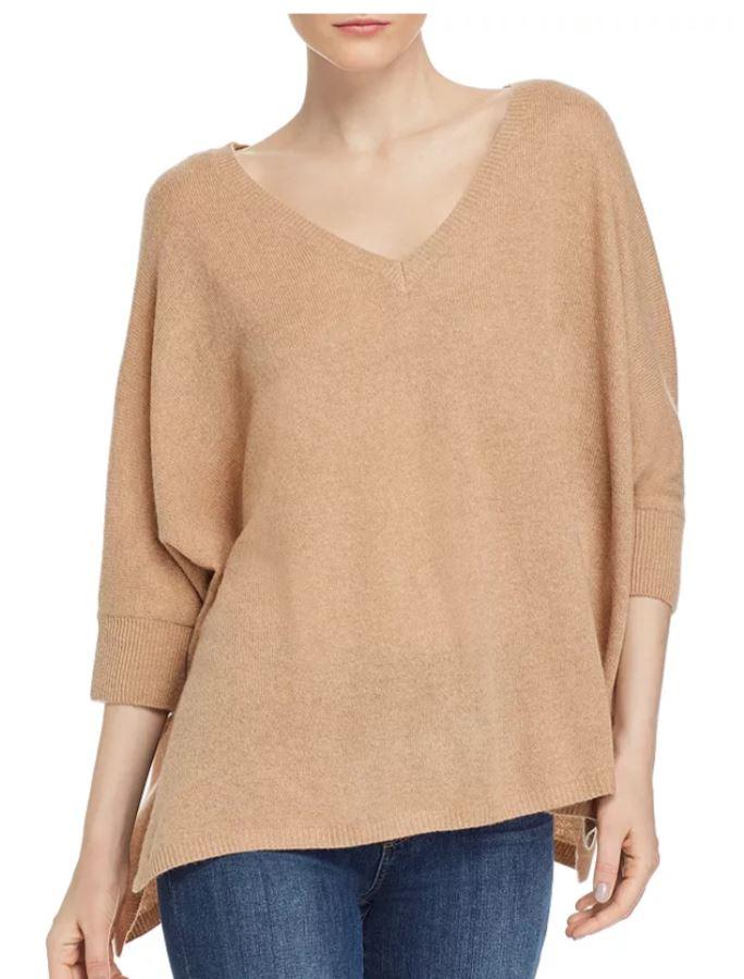 Minnie Rose Boyfriend Cashmere Sweater