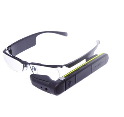 vuzix m300 and Upskill Skylight software