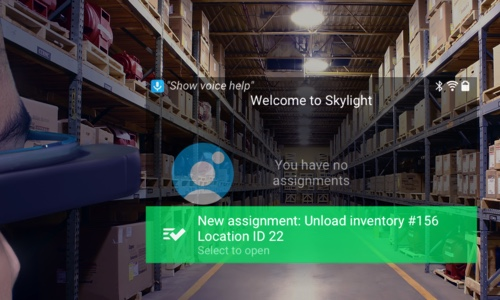 Skylight AR for Warehouses