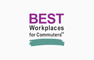 Best Workplaces for Commuters award earned by Upskill