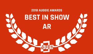 Best in Show for AR at 2018 Auggie Awards