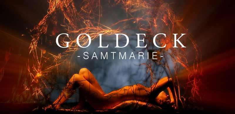 Goldeck Samtmarie auf tiefem Grund