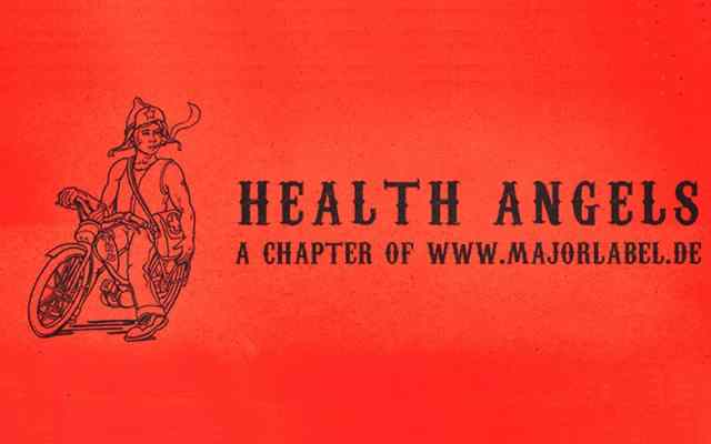 Health Angels Label