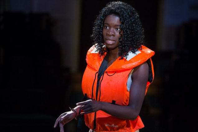 Faith Omole as Viola in Twelfth Night at Manchester's Royal Exchange © Jonathan Keenan
