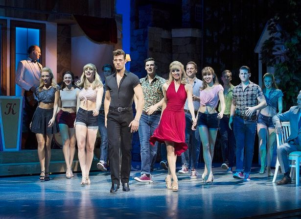 The cast of Dirty Dancing at The Palace Theatre, Manchester