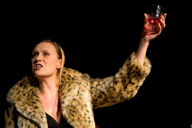 Kaitlin Howard in The Alphsbet Girl --  Edinburgh Fringe preview  2 & 3 August   ©Lucas Smith