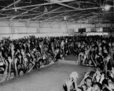 The Crowd in the open Air Pavilion ready for the show