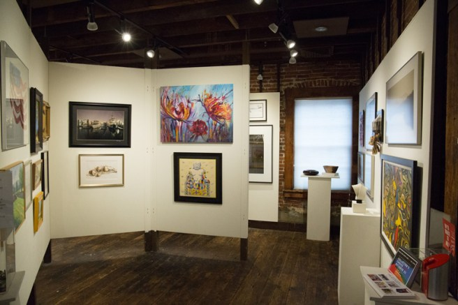 Circle Gallery 3 - Collector's Choice, showcasing artwork donated by MFA members for MFA's annual art lottery fundraiser, shot by Wil Scott (1)_07