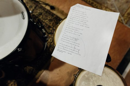 Currently the band is practicing with covers and some originals that James wrote.