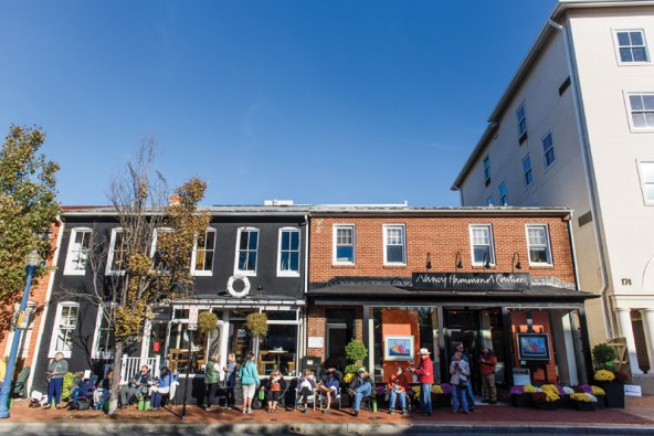 Every year since 1997, Nancy Hammond Editions has released a limited edition poster, last year drew record crowds to her 197 West Street location as fans and collectors lined up around the block early in the morning in October. Photos by Alison Harbaugh