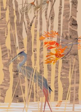 Lone Heron by Nancy Hammond_09