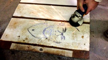 Grinding Steel for rust piece titled _Marshall__35