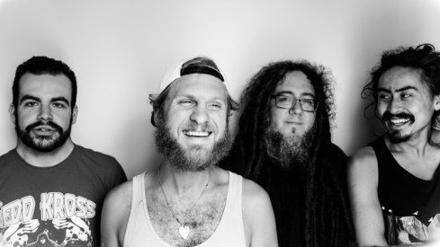 Photo by Will Kubley. From left to right, TJ Haslett, Brandon Hardesty, Dave Wolf, Chad Wright.