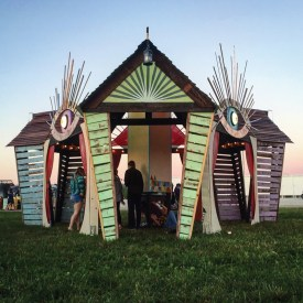 """""""Kaleidoshack,"""" (2017) commissioned by the Bonnaroo Music & Arts Festival."""