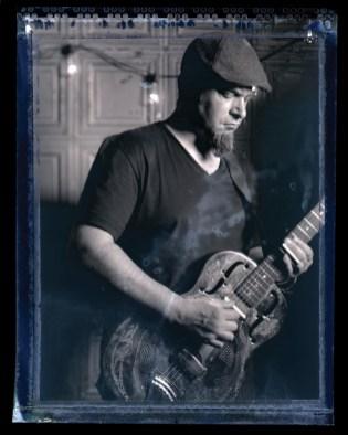 Portrait Polaroid 4x5 of Ruben Dobbs of Swampcandy_14