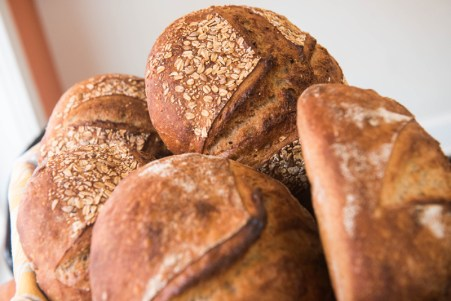 A variety of fresh baked breads at Bakers and Co. in Eastport. Photo by Alison Harbaugh