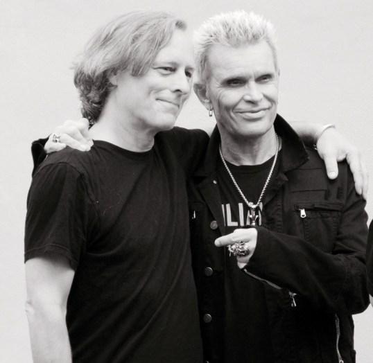 Bob Waugh and Billy Idol