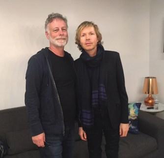 Bob Waugh with Beck