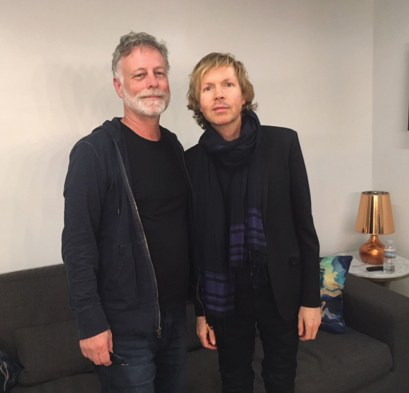 Bob Waugh with Beck