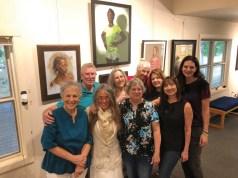 Front row: Sandy Cohen, Diane Cary-Thomson, Sheila Myers, Rebecca Wallace Pugh. Back row: David Lawton, Blandine Broomfield, Janet Ewing, Melissa Gryder, Sarah Wardell