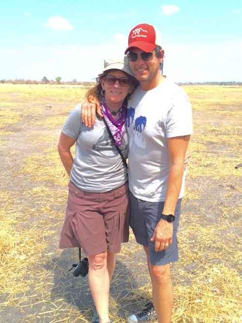 Mike and Nancy in Zambia.
