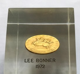 Lee's New York Art Directors Club gold medal. Courtesy Photo