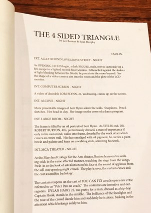 Script written by Lee Bonner & Sean Murphy Courtesy Photo