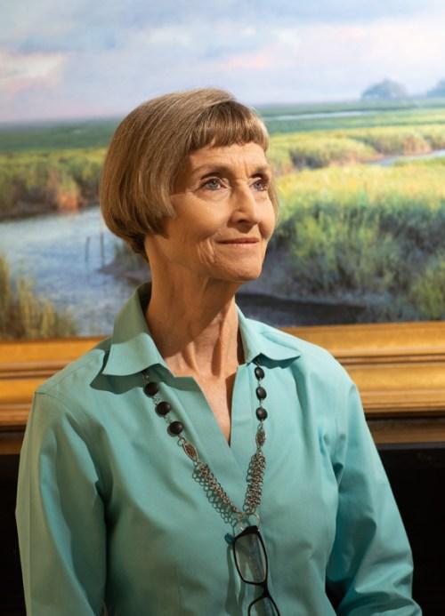 10/5/18: Cynthia McBride, owner of McBride Gallery. Photo by Alison Harbaugh