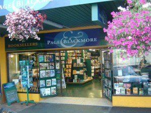 Page and Blackmore store front