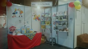 Our stand at The Baby Show