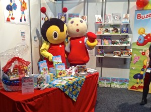 Buzzy and Mary-Lou at the Baby Show