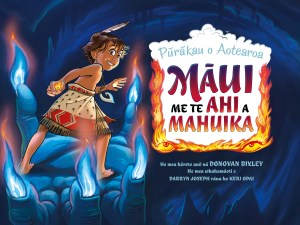 Cover art for Maori edition