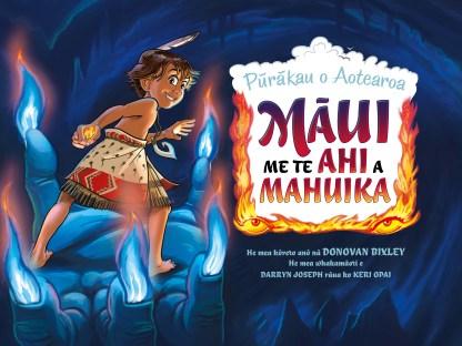 Cover art for Maori edition